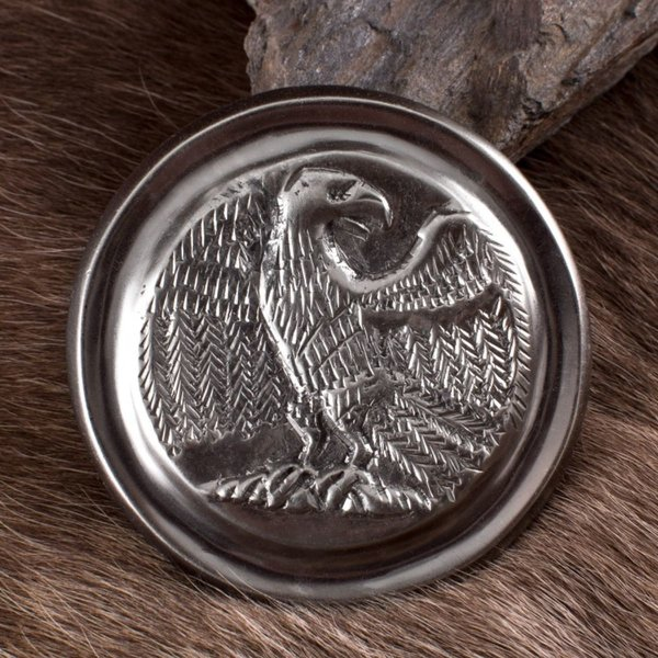 Deepeeka Romersk phalera ørn sølv farve