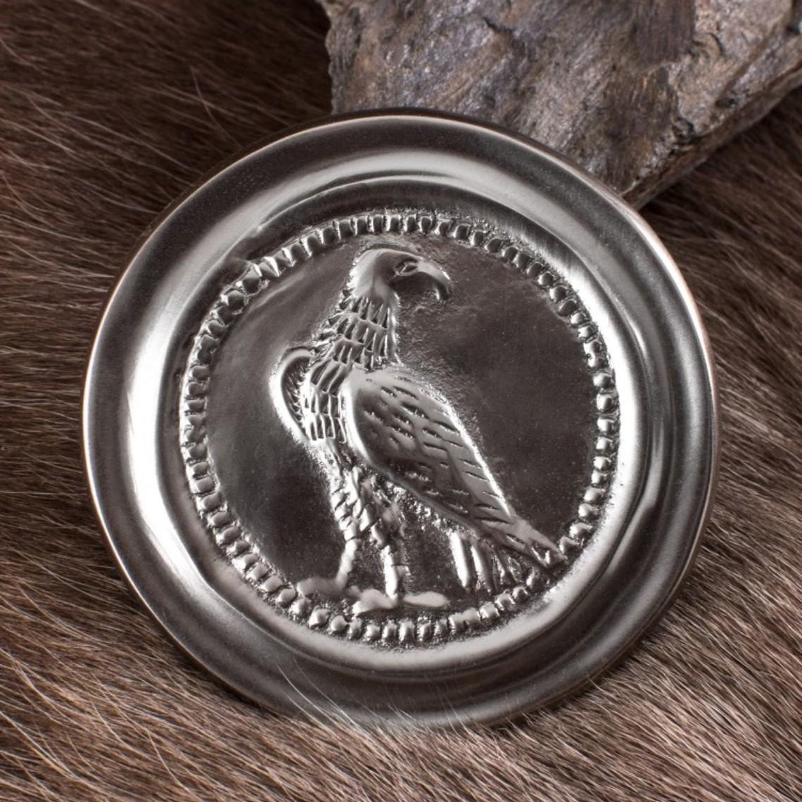 Deepeeka Roman phalera small eagle silver color