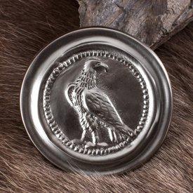 Deepeeka Phalère romaine petite couleur argent aigle