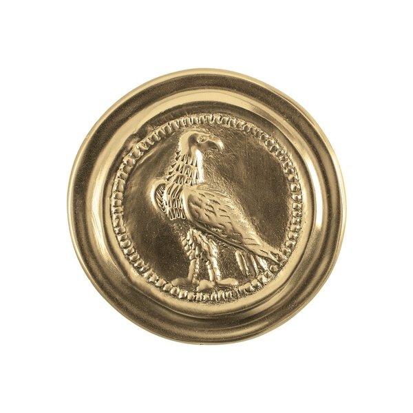 Deepeeka Phalère romaine petite couleur or aigle