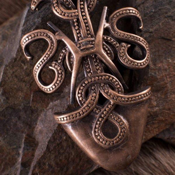 Deepeeka Viking schedepunt met slangen