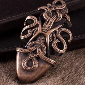 Deepeeka Viking Scheide chape mit Schlangen
