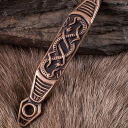 Gürtelschlaufe mit Schlangen für Schwertscheide
