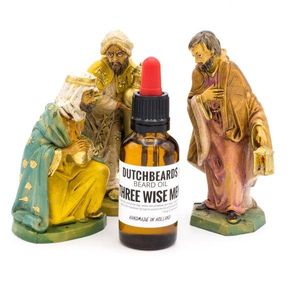 DutchBeards Beard olie tre vismænds