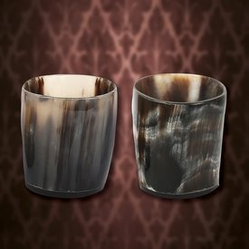 Windlass Set of 2 horn shot glasses
