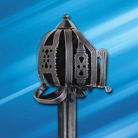 Windlass Steelcrafts Culloden Schottisches Schwert mit Korbgriff