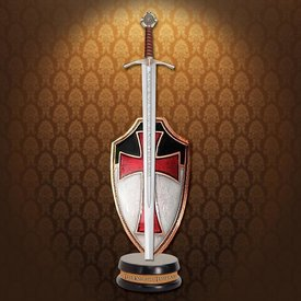 Windlass Letter opener sword Knights Templar