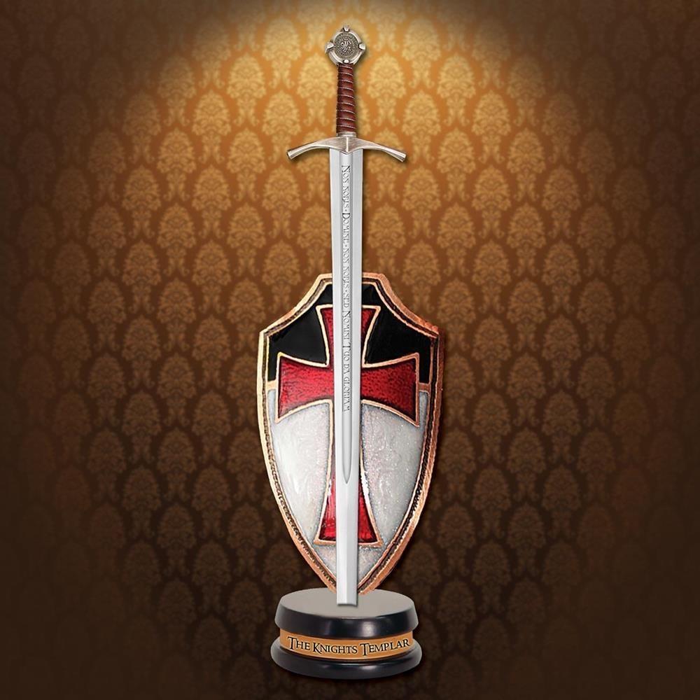 Briefopener zwaard Orde van de Tempeliers