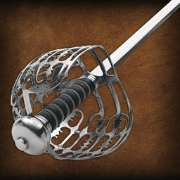 Scottish Eglinton basket-hilt sword