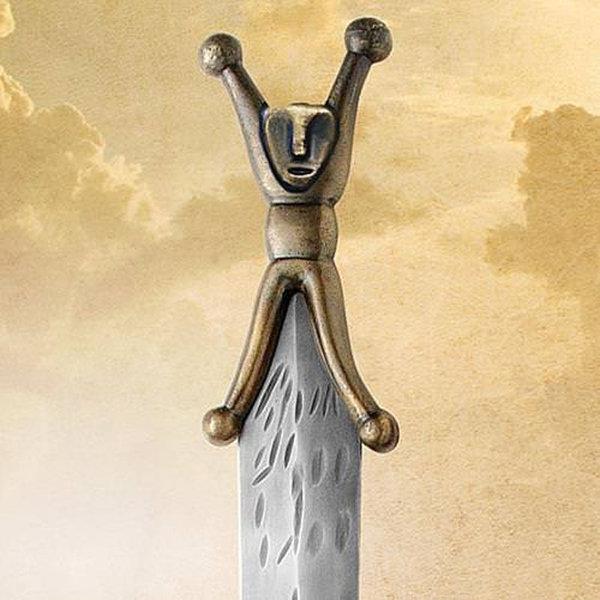 Windlass Celtic sword antique finish