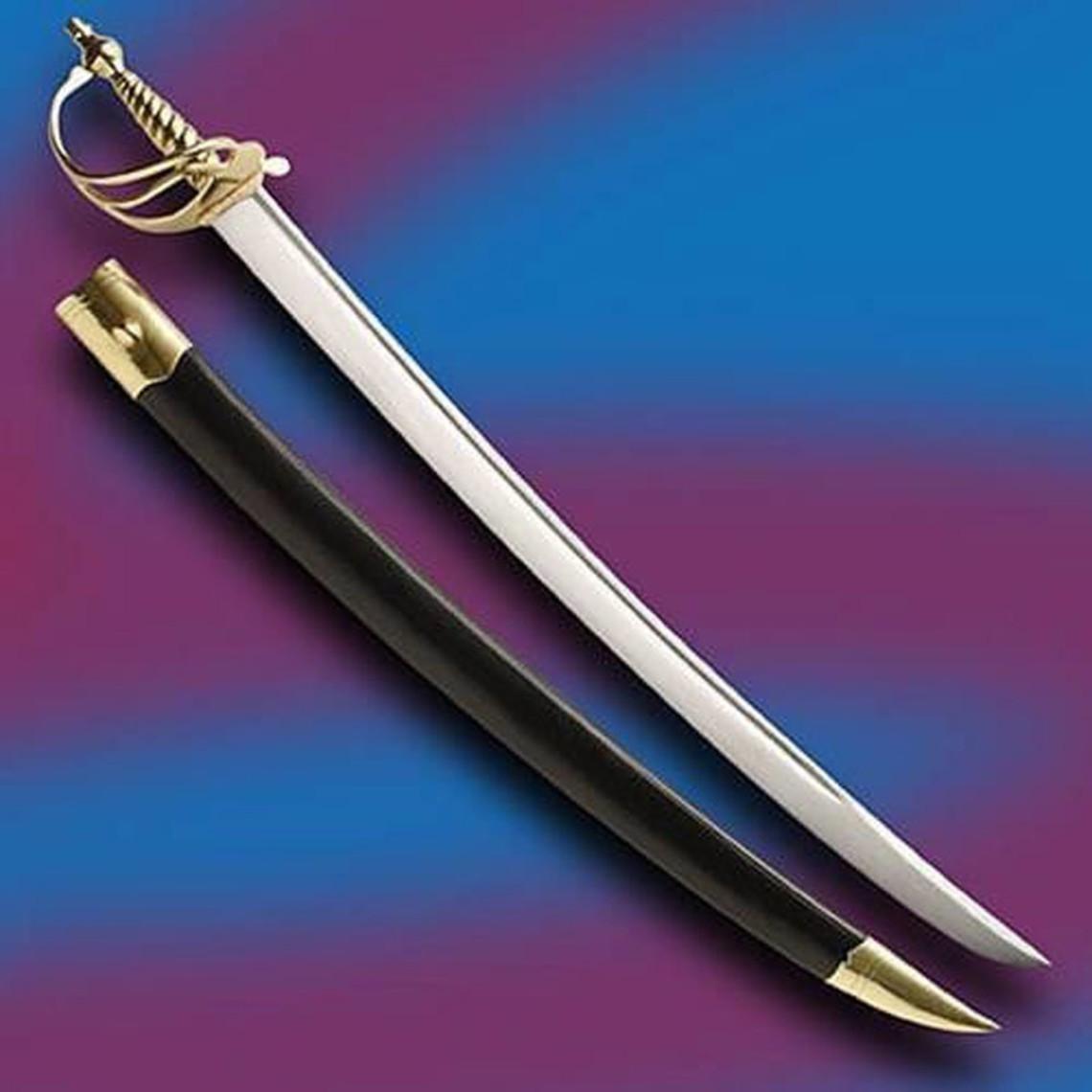 Windlass Steelcrafts Sable pirata Calico Jack espada