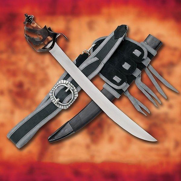 Windlass Steelcrafts Cutlass pirat sværd Davy Jones