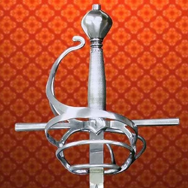 Windlass Italiaanse rapier 17de eeuw