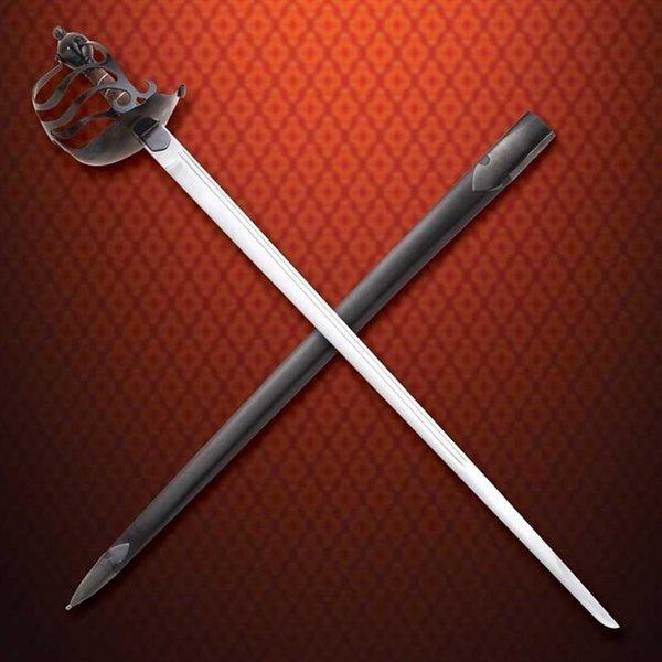 Windlass Steelcrafts Basket fæstet lighus sværd engelske borgerkrig