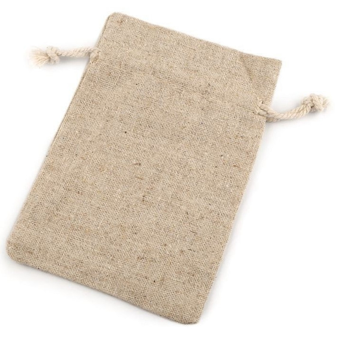 Linnen taske 10 x 14 cm