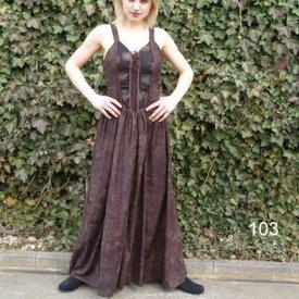 Dress Aibell, brown