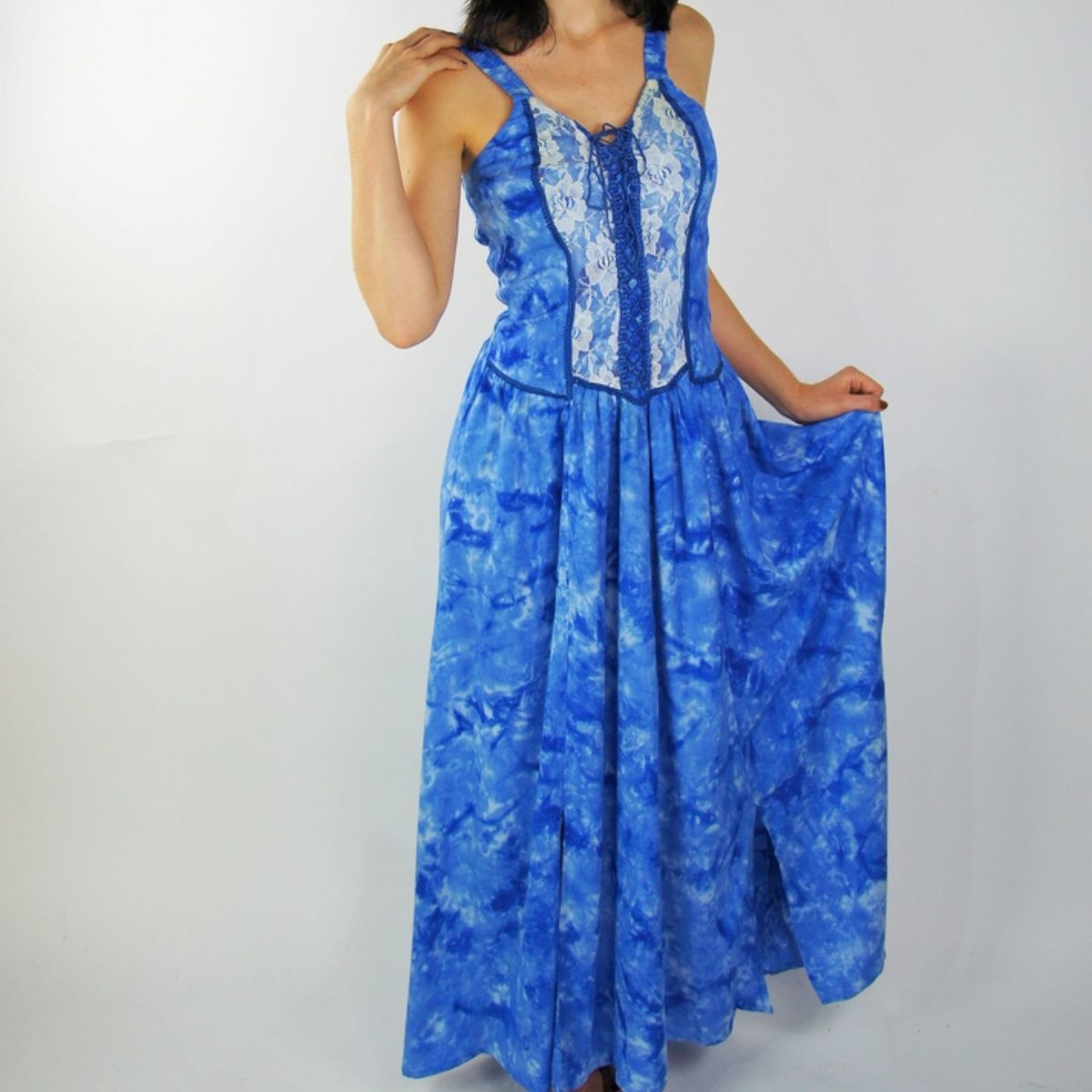 Leonardo Carbone Kleid Aibell, blau