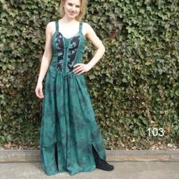 Klänning Aibell, grön