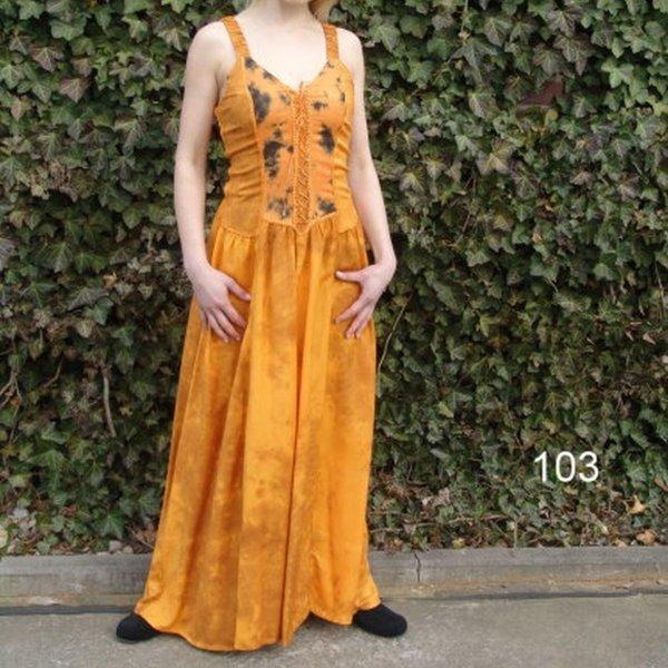 Kleid Aibell, gelb
