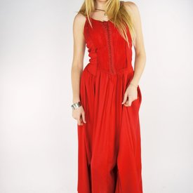 Dress Aibell, red