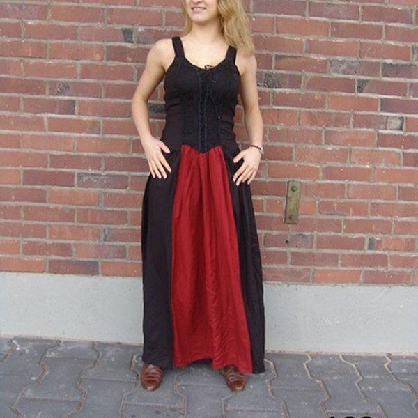 Leonardo Carbone Kleid Aibell, schwarz-rot