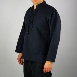 Camisa de algodón, negro