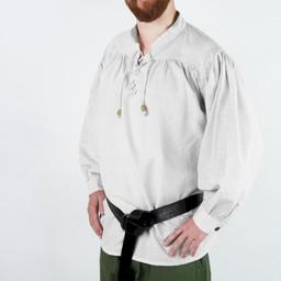 Mittelalterliches Hemd, weiß