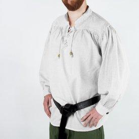 Leonardo Carbone Middelalderlig skjorte, hvid
