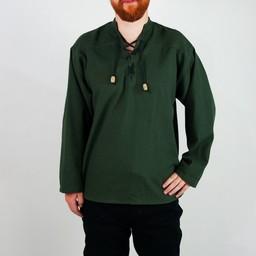 Koszulka ręcznie tkane, zielony
