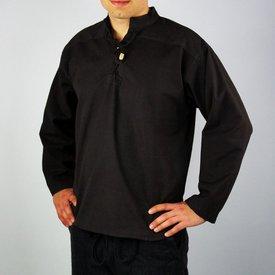 Leonardo Carbone Camisa tejido a mano, negro