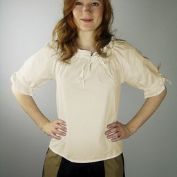 Blusa Rosamund, natural