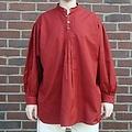 Leonardo Carbone Chemise avec bouton, rouge