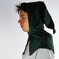 Leonardo Carbone Kaproen met kraag, grijs