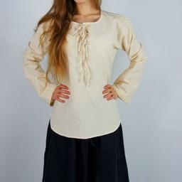 Blusa Sofía, crema