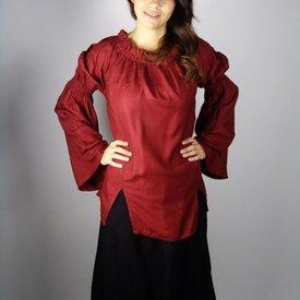 Leonardo Carbone Renæssance bluse, rød