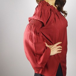 Renaissance bluzka, czerwony