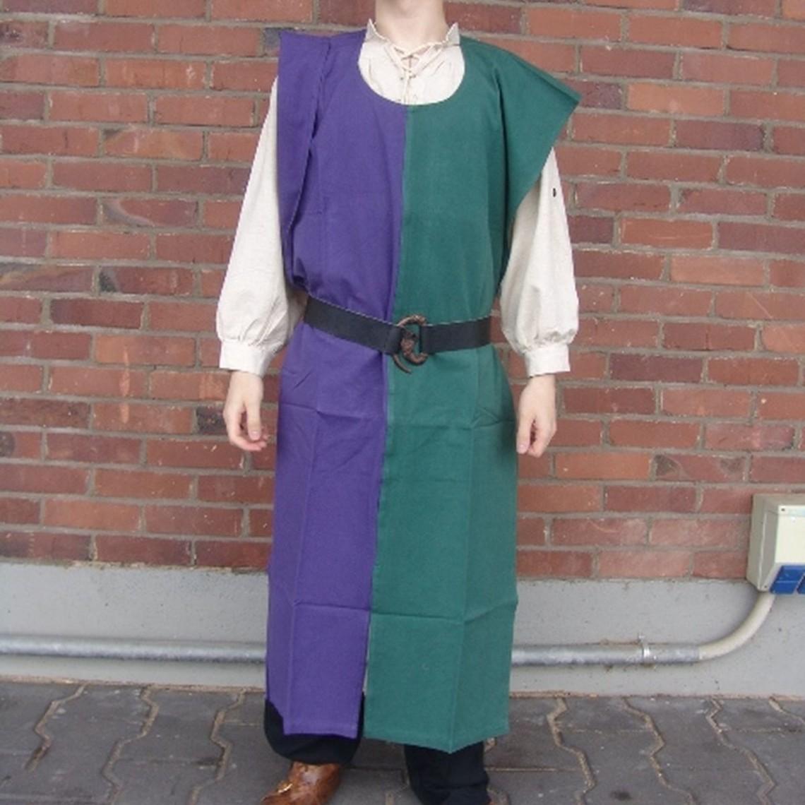 Leonardo Carbone Overkleed heren, blauw-groen