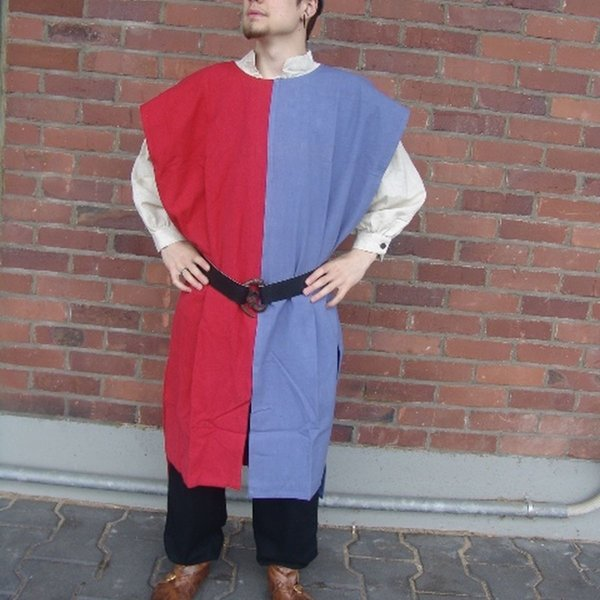 Leonardo Carbone Sopravveste uomo, blu-rosso