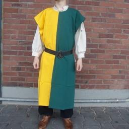 Surcoat men, yellow-green