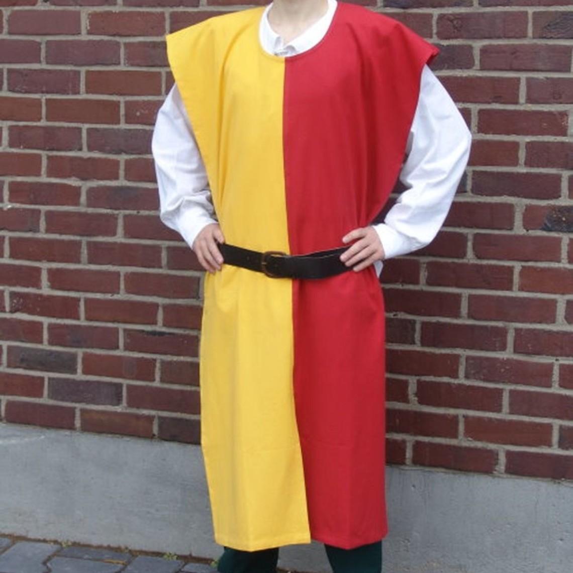 Leonardo Carbone Surcoat män, gul-röd