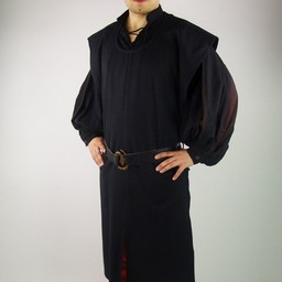 Surcoat men, black