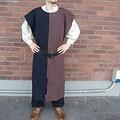 Leonardo Carbone Overkleed heren, zwart-bruin