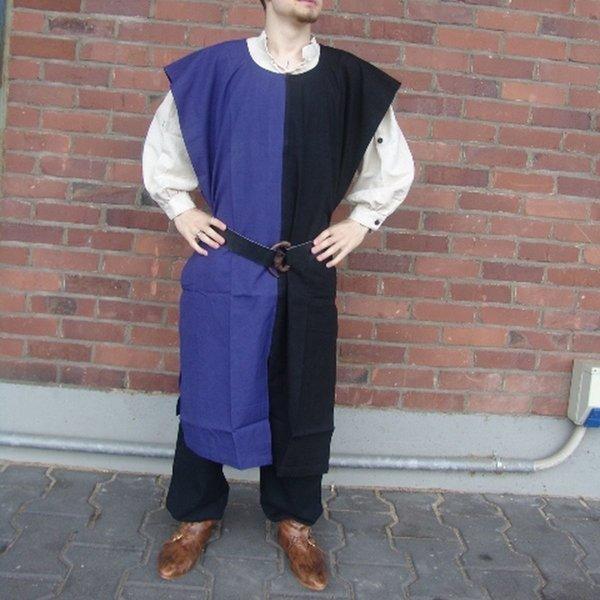 Leonardo Carbone Surcoat mænd, sort-blå