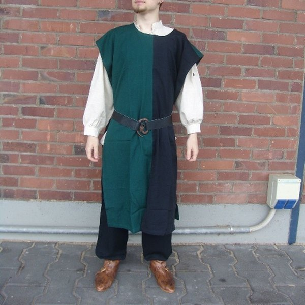 Leonardo Carbone Surcoat Männer, schwarz-grün