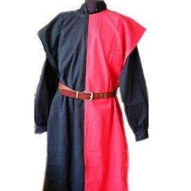 Overkleed heren, zwart-rood