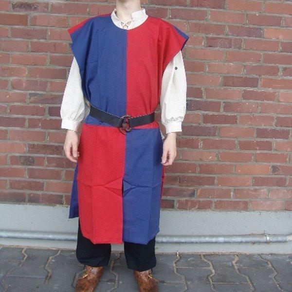 Leonardo Carbone Surcoat ternede blå-rød