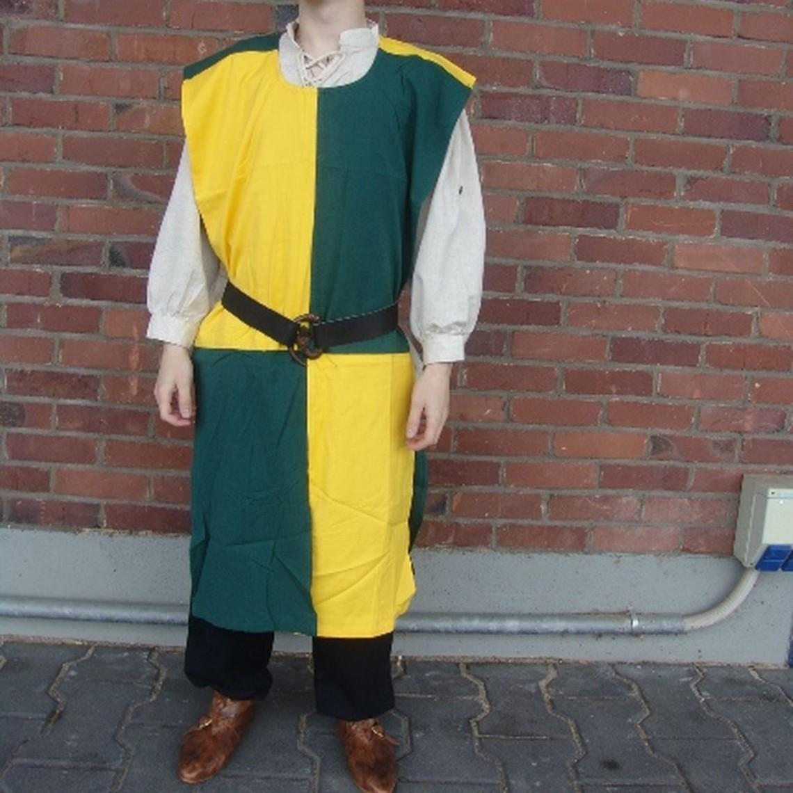 Leonardo Carbone Surcoat, rutig, gulgrön