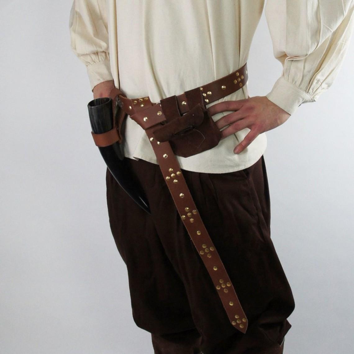 Leonardo Carbone Pantalones Faust, marrón