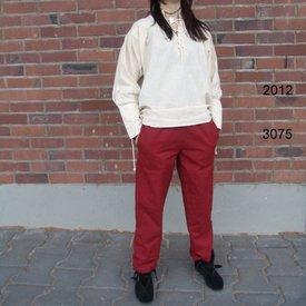Leonardo Carbone Pantaloni di cotone Alin, rosso