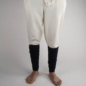 Pantaloni con bottoni, crema